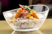 Ceviche of Snapper, sweet potato with tiger milk 1