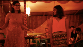 Slam India poets in full stride at Cafe Hoffman, Chapor-min