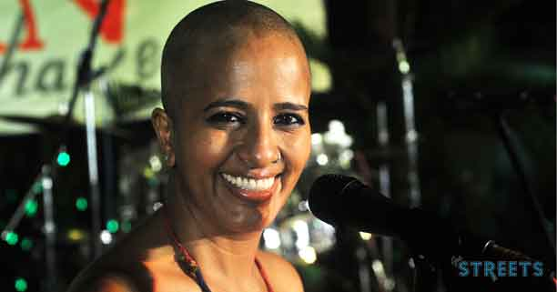 Hamsika-Iyer,shaved-her-hair-at-the-acution