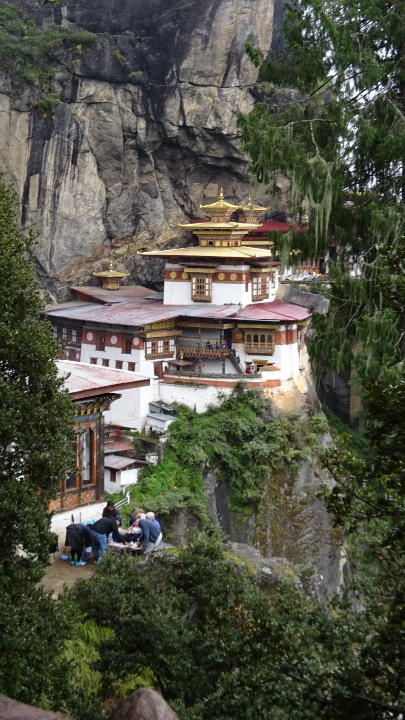 Tiger's Nest monastery at Taktsang, Paro, Bhutan copy-min